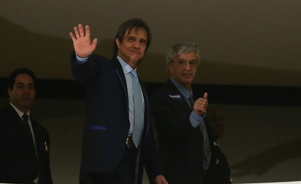 Roberto Carlos e Caetano Veloso