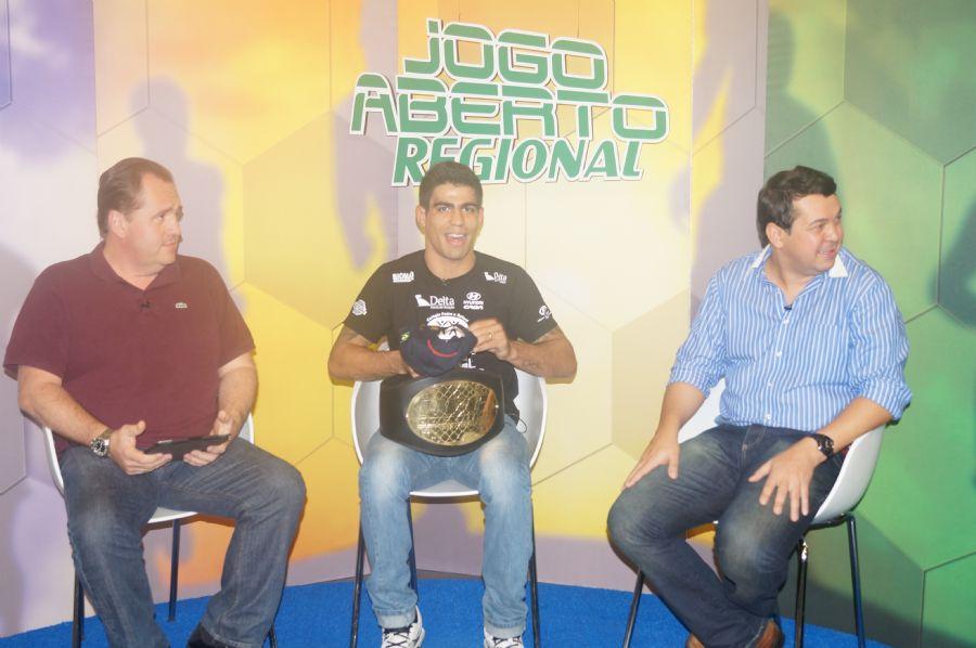 Rafael Índio participa do Jogo Aberto Regional