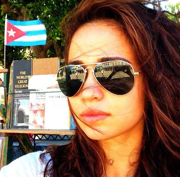 Nanda Costa em foto tirada em Cuba / Divulgação/Instagram