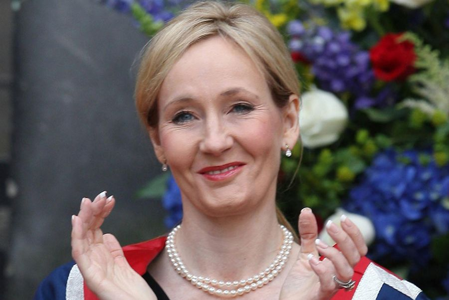 J.K Rowling conversou com os fãs / David Cheskin/Pool/AFP