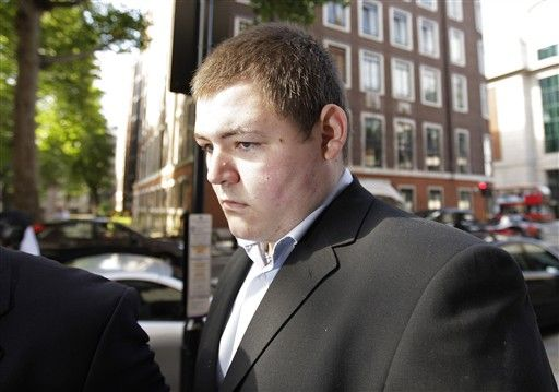 Jamie Waylett na época de sua condenação de 2009 / Shaun Curry/AFP