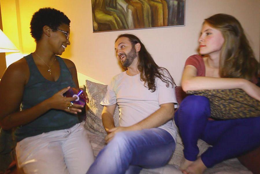 Rita Batista conversou com casal consumidor de produtos eróticos
