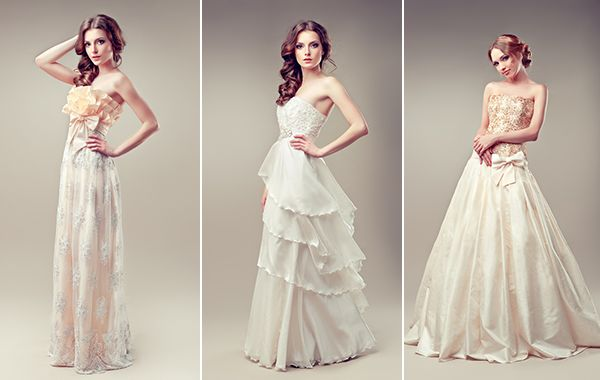 51e4bf247 Vestidos de noiva românticos dão um ar de pureza e juventude   Shutterstock