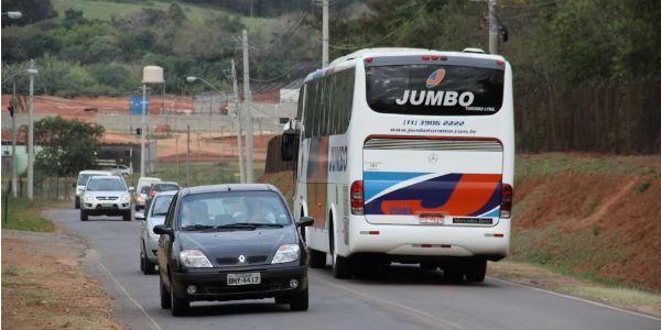 Emdec não sabe volume de veículos na área, mas congestionamentos são frequentes. / Thomaz Marostegan/ Metro Campinas