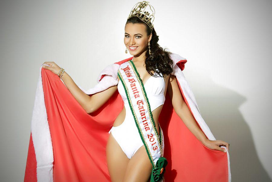 Francielle Brito, Miss SC 2013, em ensaio exclusivo