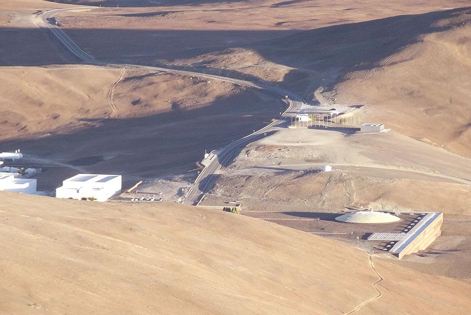 Bastidores de uma observação astronômica no ESO