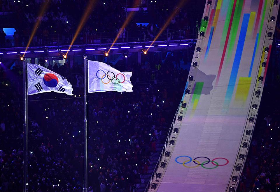 Veja a abertura das Olimpíadas de Inverno
