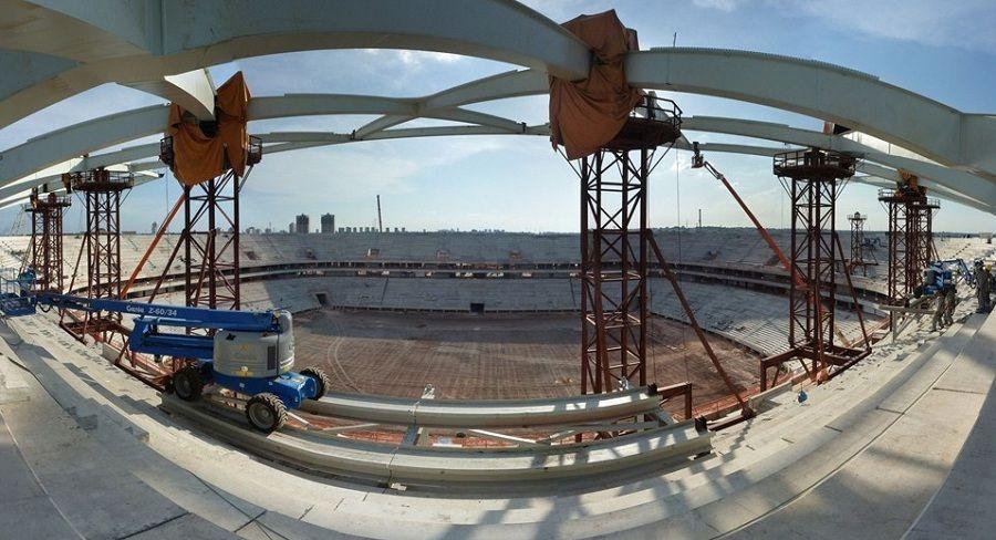 Estádio já está com 80% das obras concluídas / Divulgação/Site da Fifa