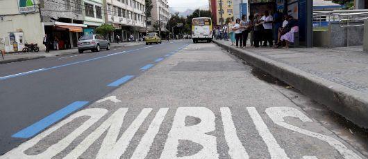 A cidade do Rio de Janeiro já possui sete corredores exclusivos para ônibus / Divulgação/Prefeitura do Rio