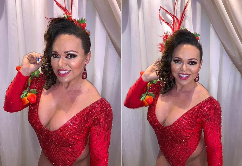 Rainha de bateria aposta na utilização do hormônio HCG no Carnaval