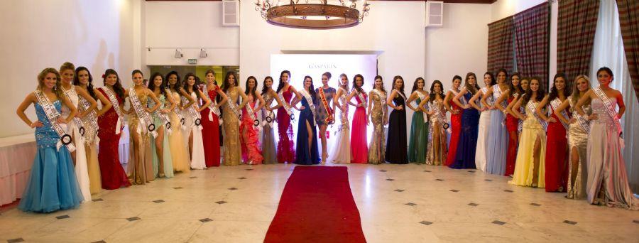 Finalistas do concurso Miss Rio Grande do Sul 2014 / Antares Martins/Divulgação