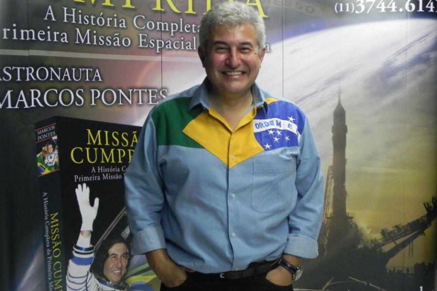 Marcos Pontes sonha em voltar ao espaço / Mario Henrique de Oliveira/ Portal da Band