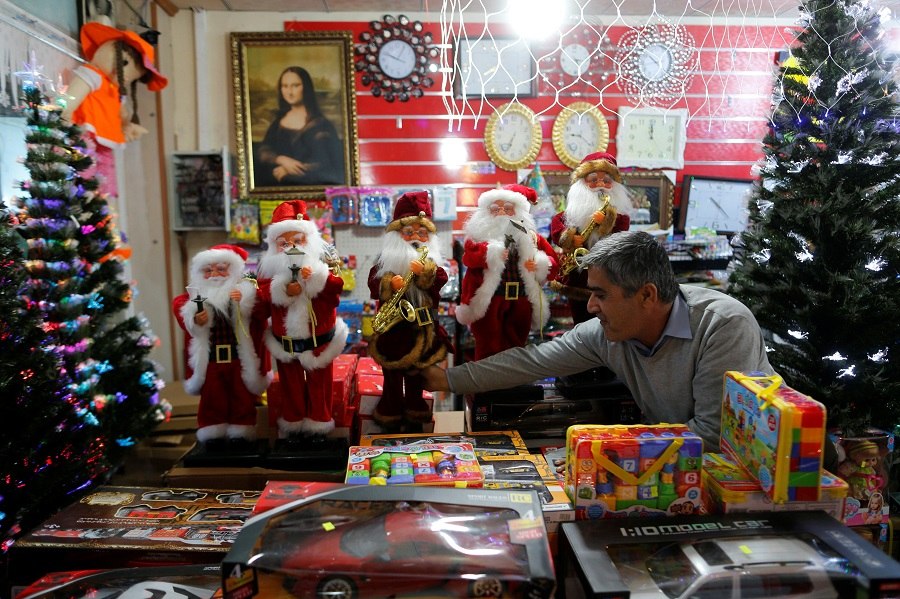 Veja imagens do Natal pelo mundo
