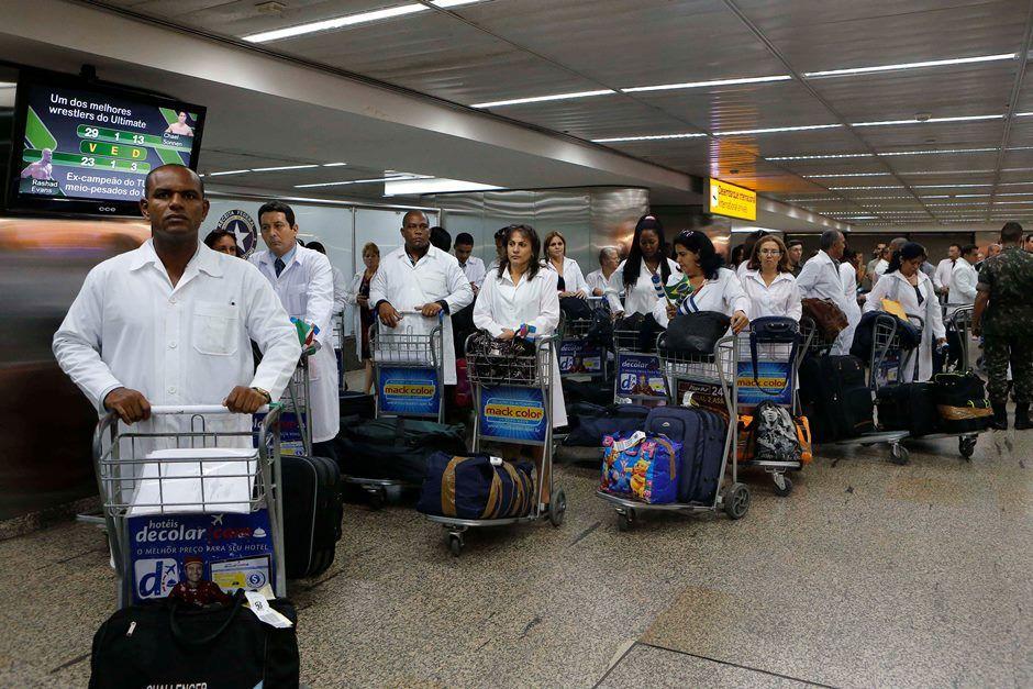 617 médicos cubanos podem deixar o RS