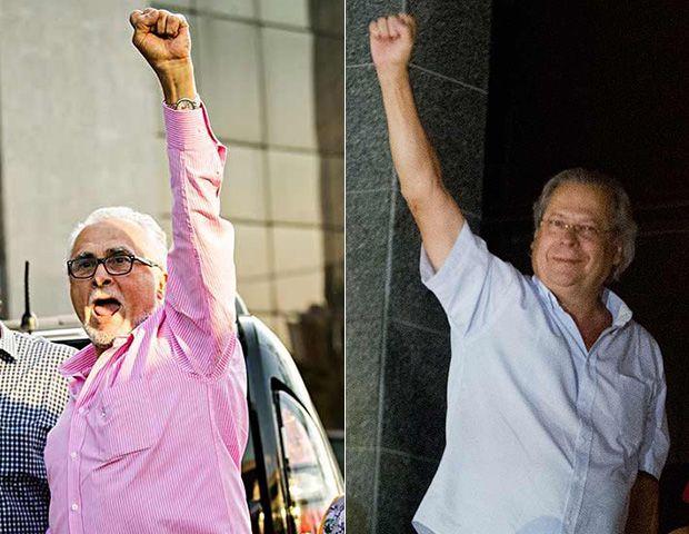 Genoino e Dirceu conseguem semiaberto / Eduardo Knap/Folhapress/AFP