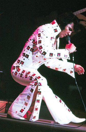 Elvis Presley em turnê de 1972