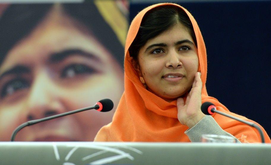 Malala foi a mais jovem premiada com um Nobel / Patrick Hertzog/AFP