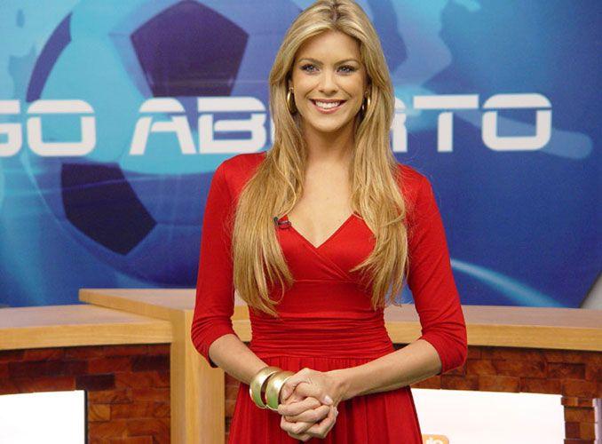 Apresentadora do Jogo Aberto, Renata Fan, será a mestre de cerimônias do Miss RS 2014 / Divulgação Band