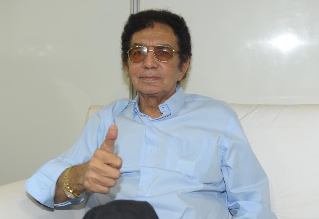 Reginaldo Rossi é internado no Recife / Francisco Cepeda/AgNews