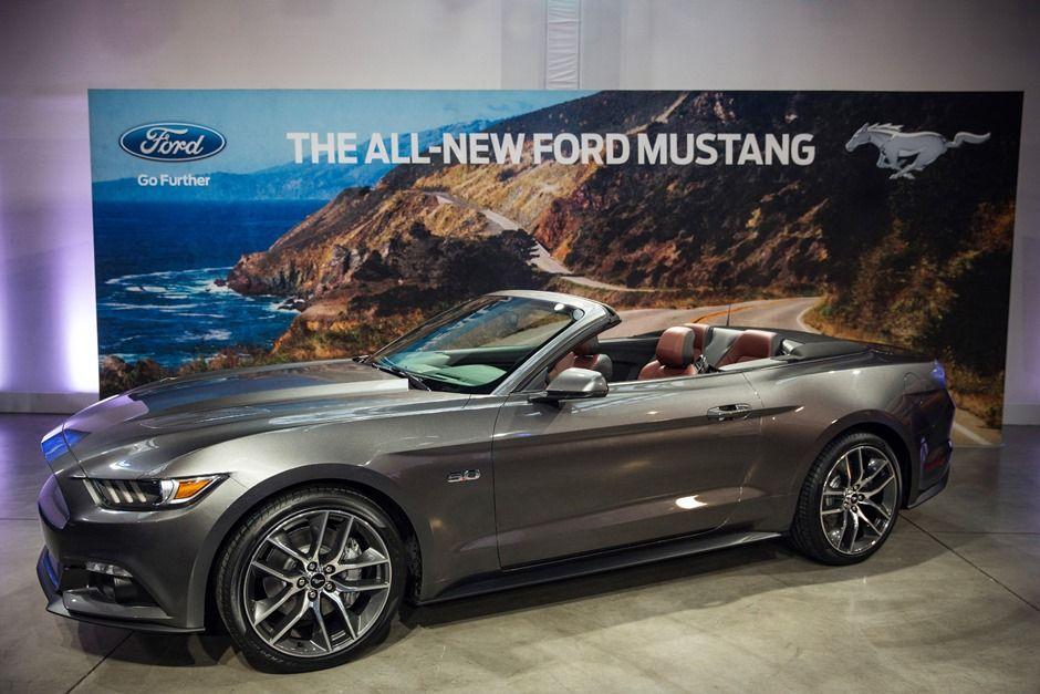 Ford lança novo 'Mustang' para celebrar 50 anos do modelo