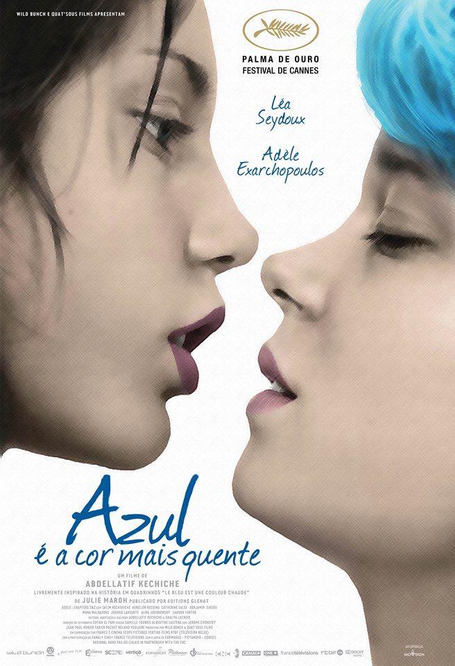Azul é a cor mais quente chega aos cinemas / Divulgação/Imovision