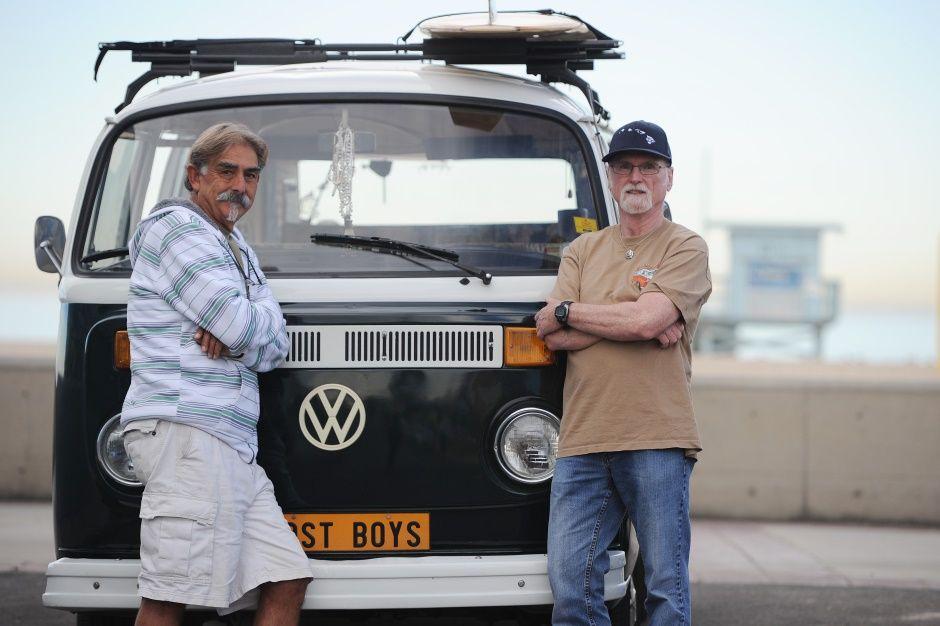 Kombi da Volkswagen, ainda está no coração dos hippies da Califórnia