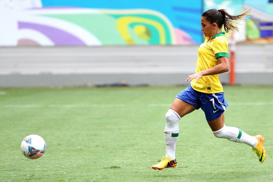 Veja imagens da vitória do Brasil sobre a Escócia