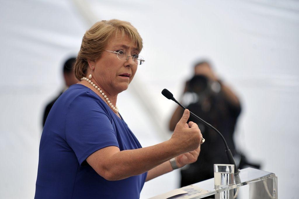 O caso provocou uma forte queda na imagem de Bachelet / Hector Retamal/AFP