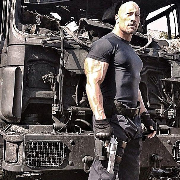 07bea98b9945a Conhecido como The Rock, filmes do musculoso intérprete arrecadaram mais de  US  1 bilhão nas bilheterias