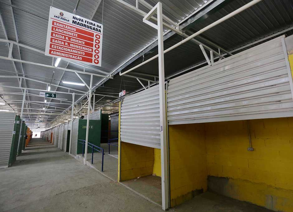 Lojistas já podem ocupar suas lojas no Brás / Nelson Antoine/Fotoarena/Folhapress