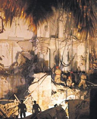 Tragédia do edifício Liberdade motivou a lei  / Bruna Prado/Metro Rio