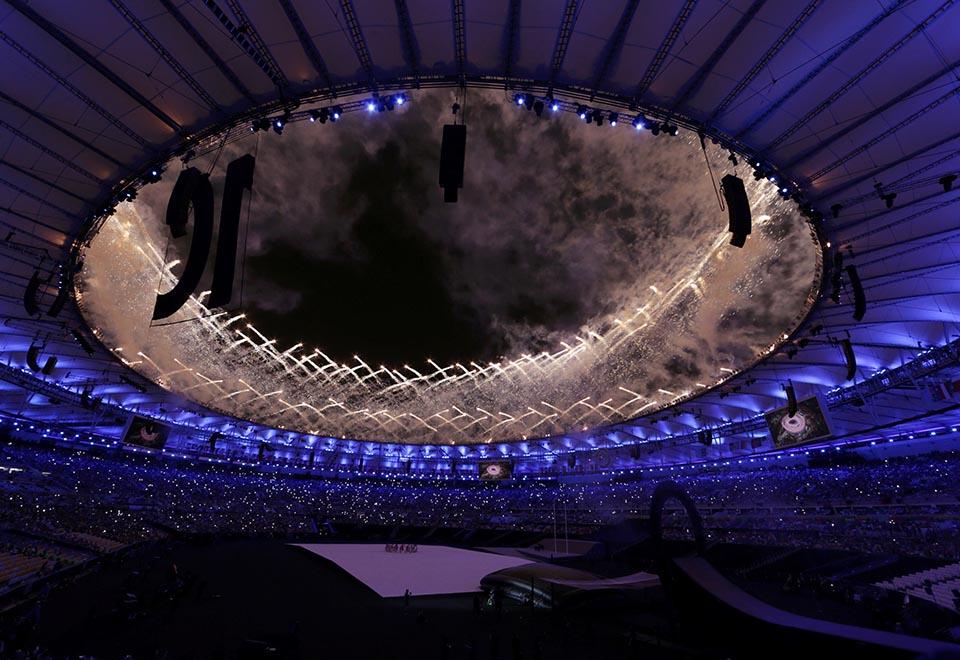 Veja as fotos da cerimônia de abertura dos Jogos Paraolímpicos do Rio