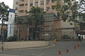 Polícia já solicitou imagens das câmeras de segurança do hospital / Reprodução Band