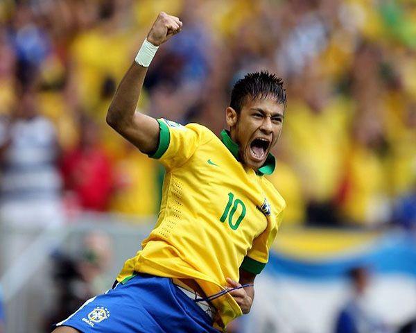 Neymar marca contra Japão nas Confederações