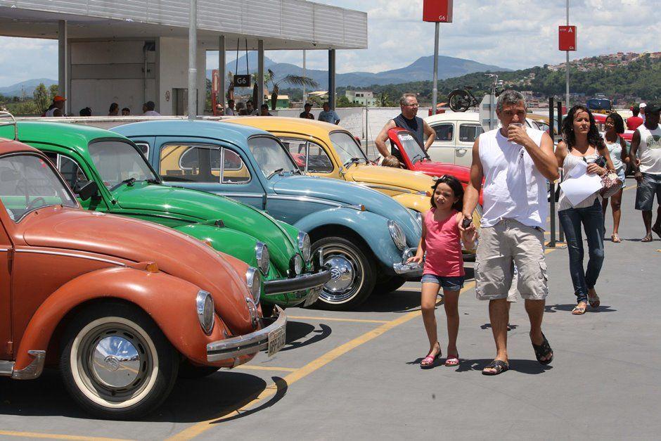 MG: encontro de fuscas reúne apaixonados pelo carro