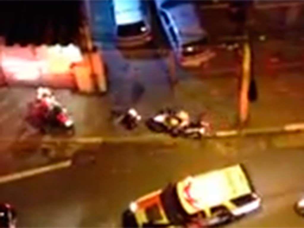Vídeo registra o atropelamento deliberado do policial / Reprodução/YouTube