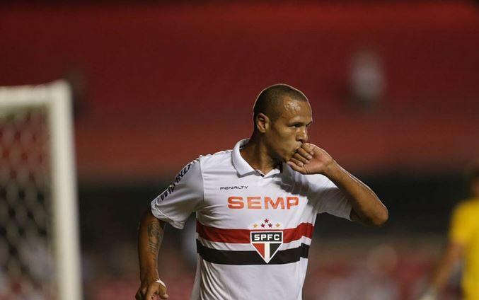 Luis Fabiano alcança marca de 182 gols marcados pelo Tricolor / Rubens Chiri/saopaulofc.net