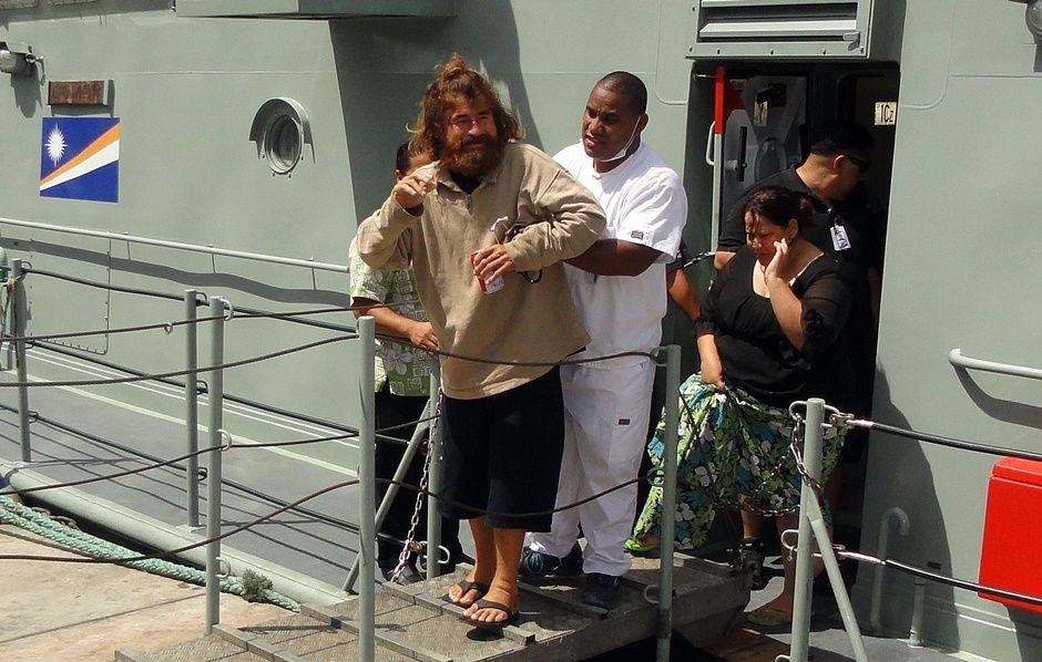 José Iván foi resgatado após 13 meses à deriva / GIFF JOHNSON / AFP