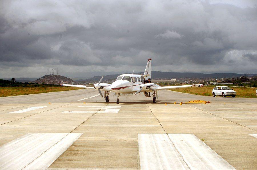 Avião da empresa JAD Táxi Aéreo que foi interceptado nesta segunda-feira