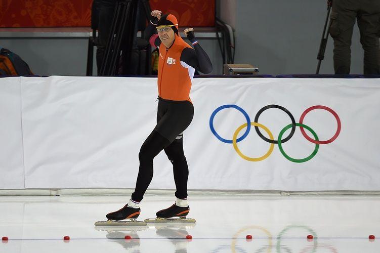 Stefan Groothuis levou ouro na prova dos 1000 m na patinação de ...