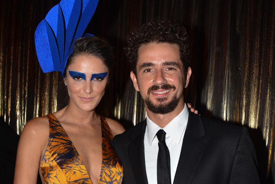 Rafa Brites e o marido Felipe Andreoli / Caio Duran/AgNews