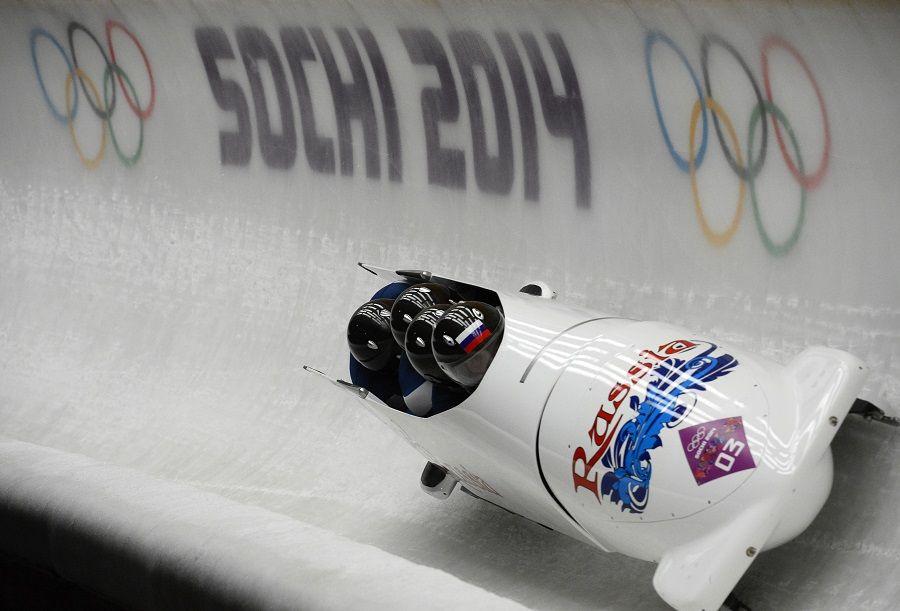 Russos foram mais rápidos nas duas descidas do dia / Lionel Bonaventure/AFP