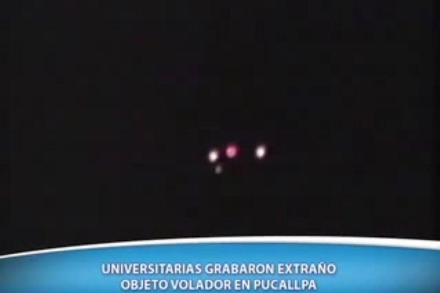 Peruanos relatam presença de Óvnis em Pucallpa / Reprodução/TV