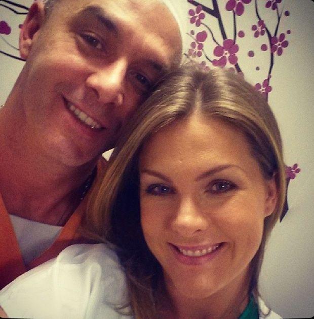 Alexandre Corrêa e Ana Hickmann