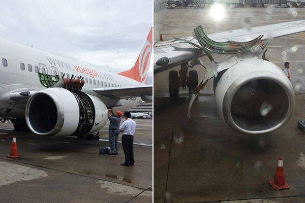 Pouso ocorreu no aeroporto do Galeão / Juliana Verboonen/ouvinte BandNews FM