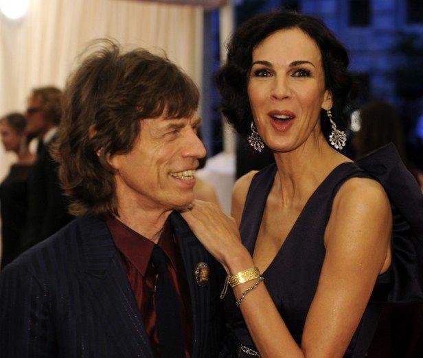 Jagger e L'Wren se conheceram em 2001 / Timithy A. Clary/AFP