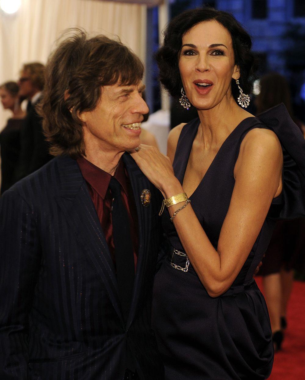 Mick Jagger e L'Wren Scott namoravam desde 2001 / Timothy A. Clary/AFP