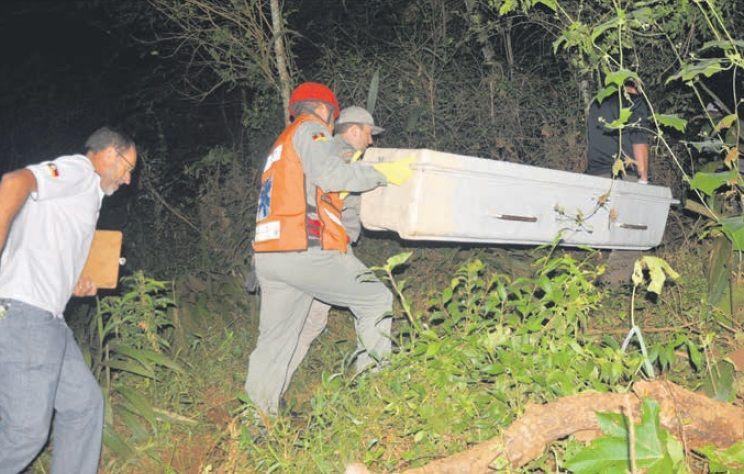 Corpo foi encontrado após 10 dias de buscas, a cerca de 80 km de Três Passos / André B. Piovesan/Arquivo/Folha do Noroeste