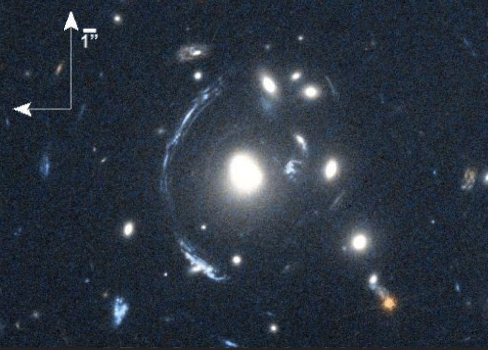 Cientistas descobrem jovem galáxia, a S0901