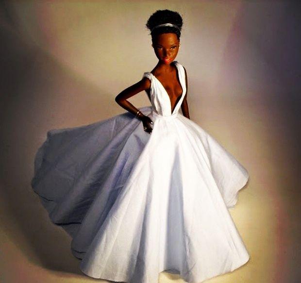 Lupita Nyongo é homenageada com miniatura de artista plástico brasileiro